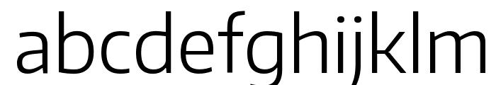 Encode Sans Light Font LOWERCASE