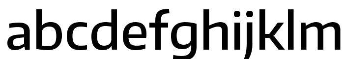 Encode Sans Medium Font LOWERCASE