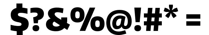 Encode Sans Narrow Black Font OTHER CHARS