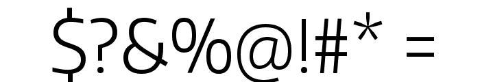 Encode Sans Narrow Light Font OTHER CHARS