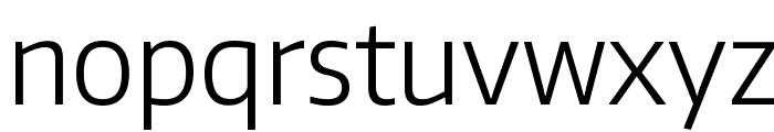 Encode Sans Narrow Light Font LOWERCASE