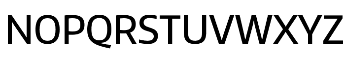 Encode Sans Narrow Medium Font UPPERCASE