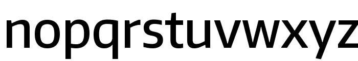 Encode Sans Narrow Medium Font LOWERCASE