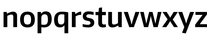 Encode Sans Narrow SemiBold Font LOWERCASE