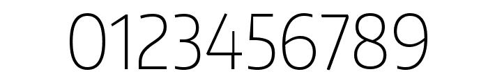 Encode Sans Narrow Thin Font OTHER CHARS