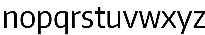 Encode Sans Narrow Font LOWERCASE