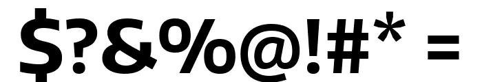 Encode Sans Normal Bold Font OTHER CHARS