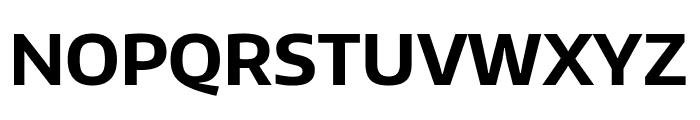 Encode Sans Normal Bold Font UPPERCASE