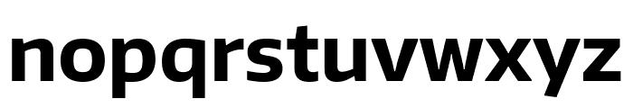 Encode Sans Normal Bold Font LOWERCASE