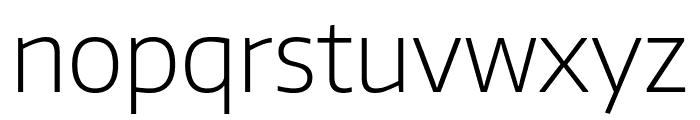 Encode Sans Normal ExtraLight Font LOWERCASE