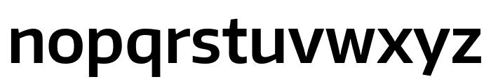 Encode Sans Normal SemiBold Font LOWERCASE