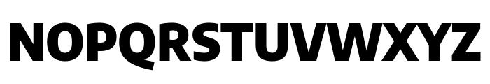 Encode Sans Semi Condensed Black Font UPPERCASE