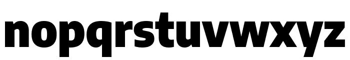 Encode Sans Semi Condensed Black Font LOWERCASE