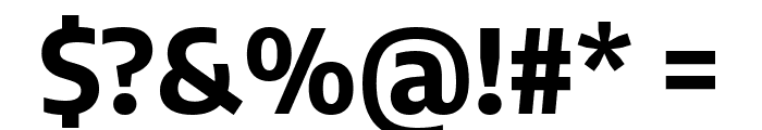 Encode Sans Semi Condensed Bold Font OTHER CHARS