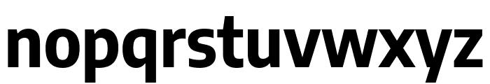 Encode Sans Semi Condensed Bold Font LOWERCASE