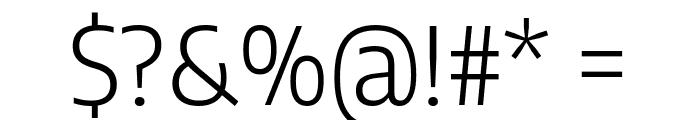 Encode Sans Semi Condensed Light Font OTHER CHARS