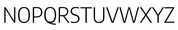 Encode Sans Semi Condensed Light Font UPPERCASE
