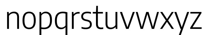 Encode Sans Semi Condensed Light Font LOWERCASE