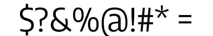 Encode Sans Semi Condensed Regular Font OTHER CHARS