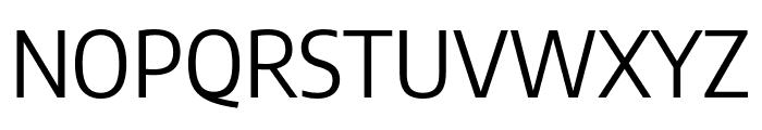 Encode Sans Semi Condensed Regular Font UPPERCASE