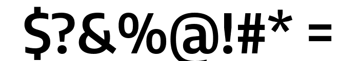 Encode Sans Semi Condensed SemiBold Font OTHER CHARS