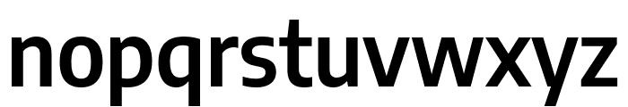 Encode Sans Semi Condensed SemiBold Font LOWERCASE