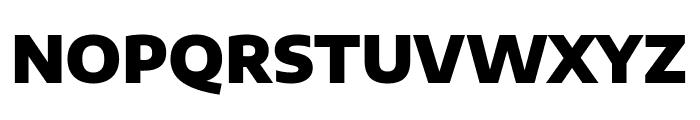 Encode Sans Semi Expanded Black Font UPPERCASE