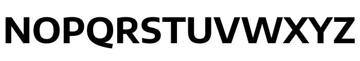 Encode Sans Semi Expanded Bold Font UPPERCASE