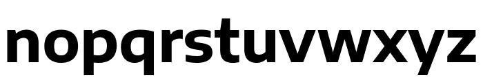 Encode Sans Semi Expanded Bold Font LOWERCASE