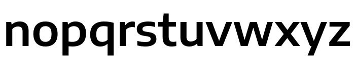Encode Sans Semi Expanded SemiBold Font LOWERCASE