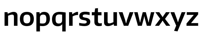 Encode Sans SemiBold Font LOWERCASE