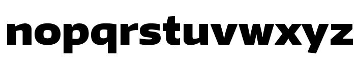 Encode Sans Wide Black Font LOWERCASE