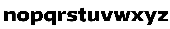 Encode Sans Wide ExtraBold Font LOWERCASE