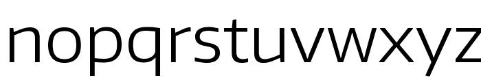 Encode Sans Wide Light Font LOWERCASE
