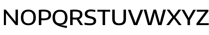Encode Sans Wide Medium Font UPPERCASE