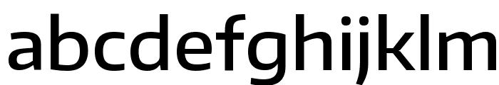Encode Sans Wide Medium Font LOWERCASE