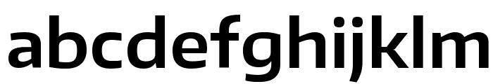 Encode Sans Wide SemiBold Font LOWERCASE