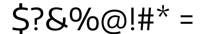 Encode Sans Wide Font OTHER CHARS