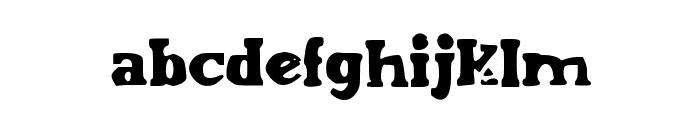 EndOfEra Font LOWERCASE