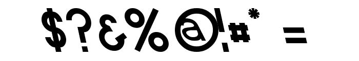 Endangered Font OTHER CHARS