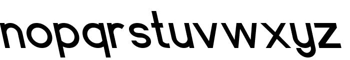 Endangered Font LOWERCASE