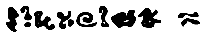 Endcurled Font OTHER CHARS