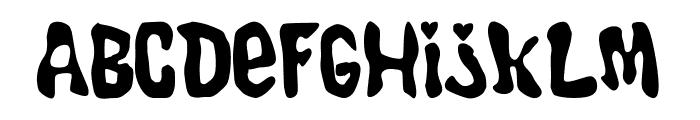 Endie Font LOWERCASE