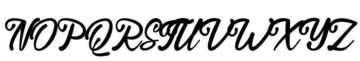Endolitta Font UPPERCASE