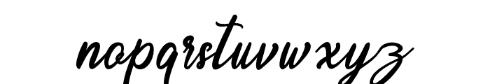 Endolitta Font LOWERCASE
