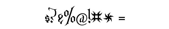 Endor Alt Font OTHER CHARS