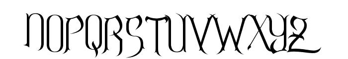 Endor Alt Font UPPERCASE