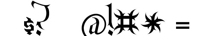 Endor Font OTHER CHARS