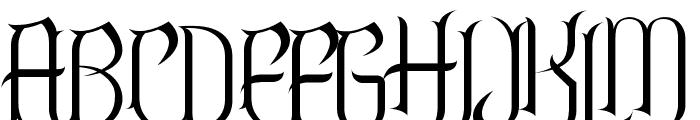 Endor Font UPPERCASE