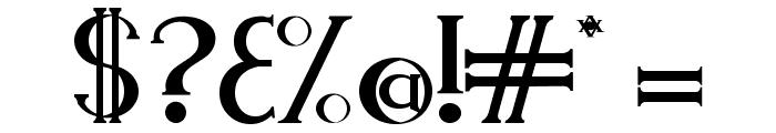 Endora Font OTHER CHARS